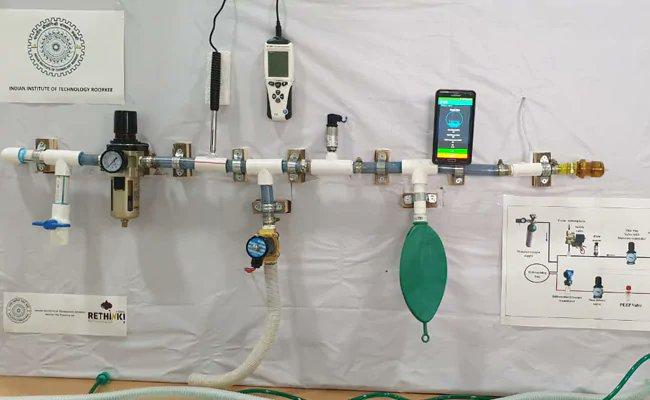 'Praan-Vayu' Ventilator