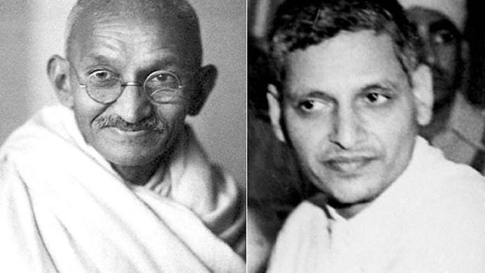 Nathuram Godse harshly critiqued gandhian nonviolence