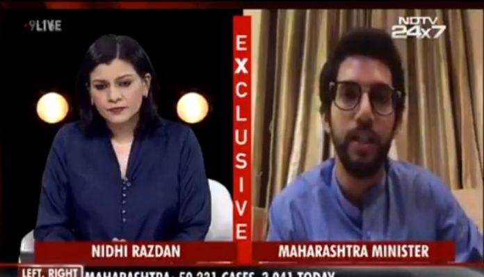Despite 50K active cases, Aaditya Thackeray concerned about online hate