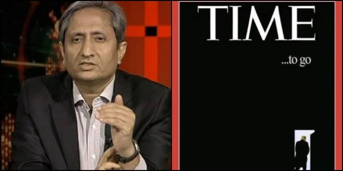 Here is the truth about the fake TIME magazine cover page shared by Ravish Kumar and subsequently deleted
