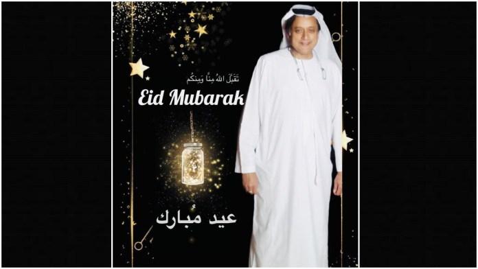 Shashi Tharoor dons 'Thawb' and turns Arabic to wish Eid