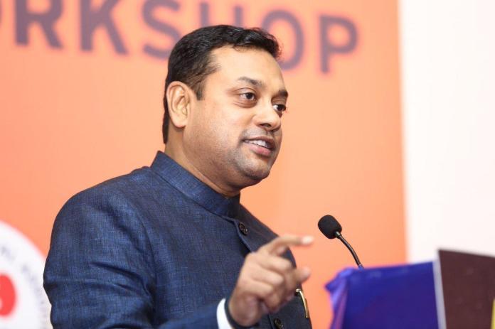 BJP spokesperson Sambit Patra hospitalised in Gurgaon after displaying Coronavirus like symptoms
