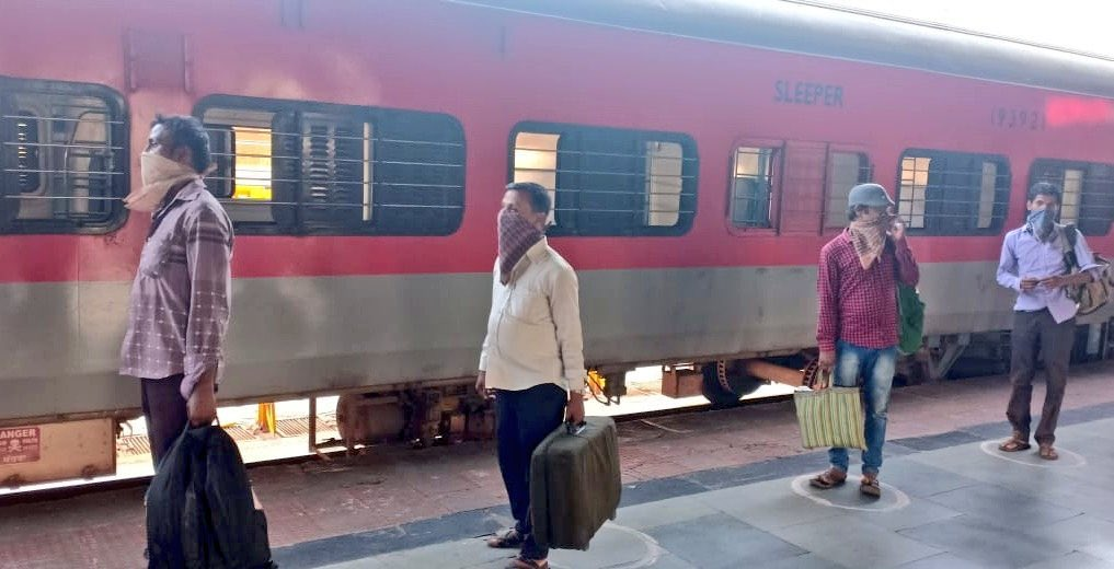 Shramik trains cancelled from Maharashtra due to non-cooperation of state