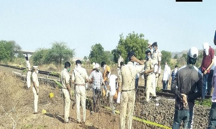 Migrant workers sleeping on tracks mowed down by goods train in Maharashtra