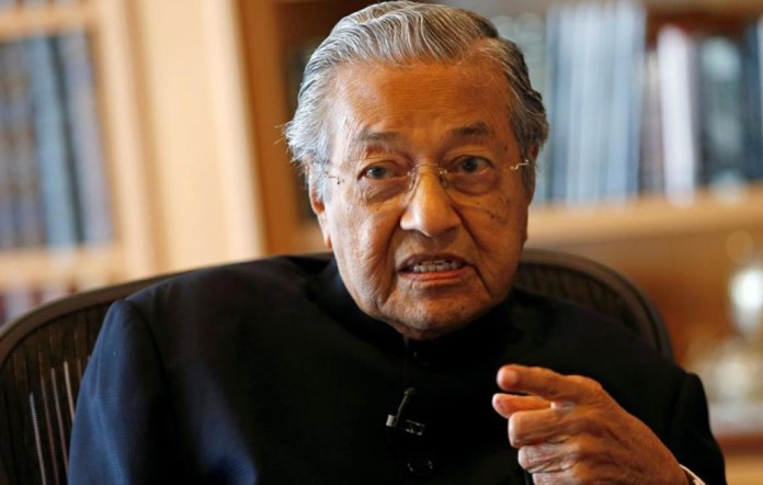 Former Malaysian PM Mahathir Mohamad sacked from his own political party