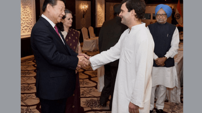 Sonia Gandhi headed Rajiv Gandhi Foundation took well over Rs 1 crore from Govt of China in 3 consecutive years, later launched 'project' endorsing FTA