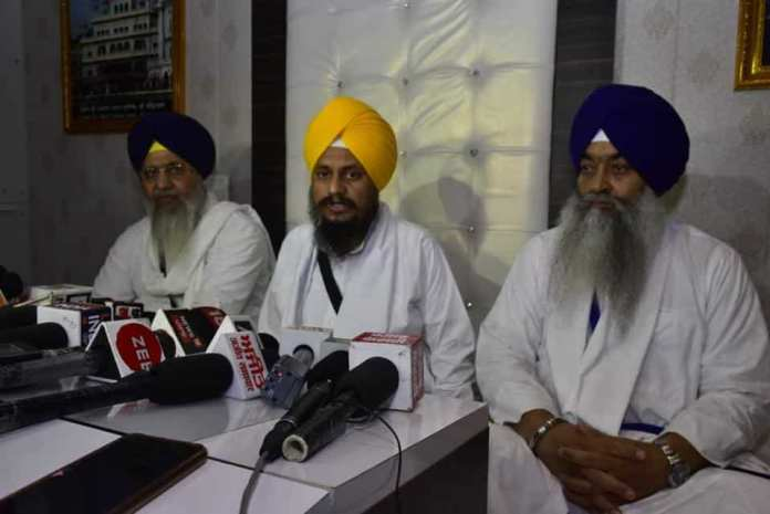 Akal Takht chief claims every Sikh dreams of having a separate nation and would accept Khalistan if the government offers it to them