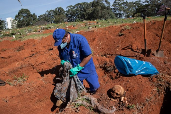 Brazil's Sao Paulo declares exhumation of old corpses to make space for coronavirus deaths