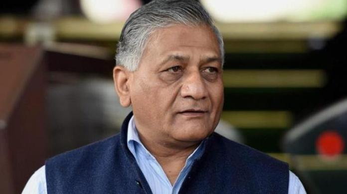 General VK Singh said more than 40 Chinese soldiers were killed by Indian soldiers