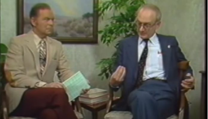Former KGB agent Yuri Bezmenov exposes the four stages of a Communist takeover in a rare 1984 interview