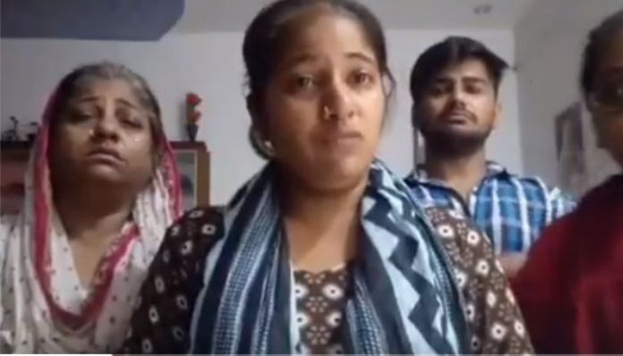 Hindu woman fears for her life, Muslim husband accused of torture