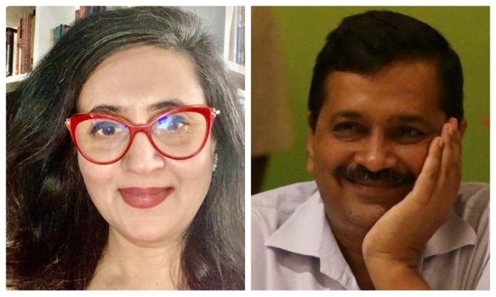 Delhi CM Kejriwal asks Sagarika Ghose to 'enjoy her haircut' after allowing the opening of salons