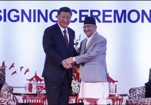 Nepal urges India and China to resolve disputes through peaceful means