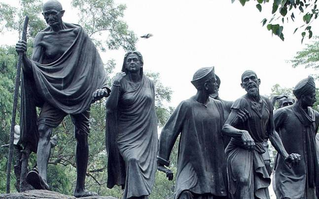 India's freedom movement against colonial rule was rooted in Dharma