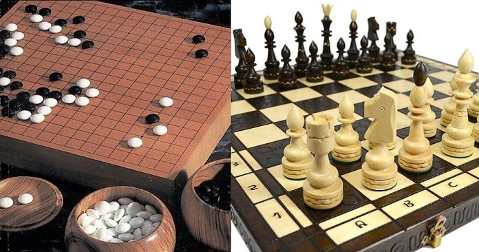 India vs China understood as board games