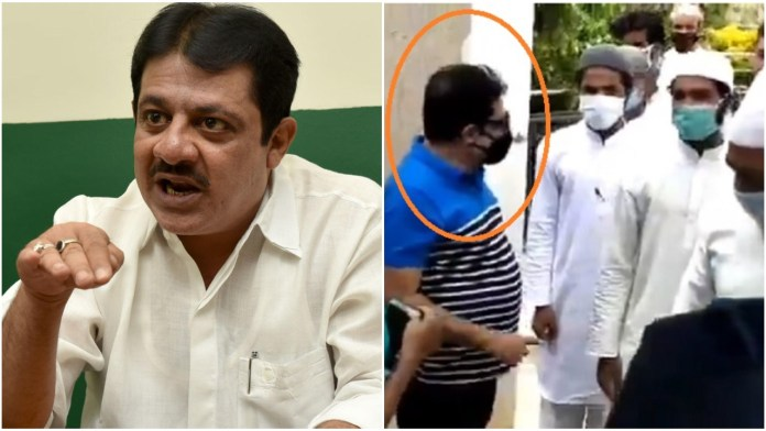 Congress MLA Zameer Ahmad Khan organises grand welcome for Padarayanpura rioters who had attacked healthcare workers on April 19