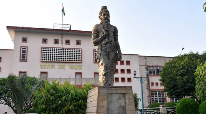 A university professor, Shakhar Gupta's The Print want to being down the statue of Manu outside the Rajasthan HC