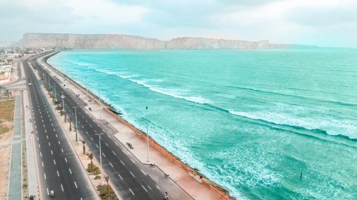 While puppet CM of Balochistan Jam Kamal Khan Alyani touts the Gwadar marine drive, here is the truth