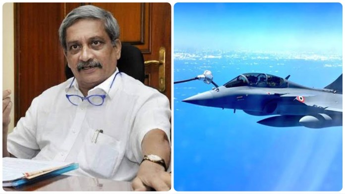 Manohar Parrikar remembered as Rafale jets touch down at the airbase at Ambala
