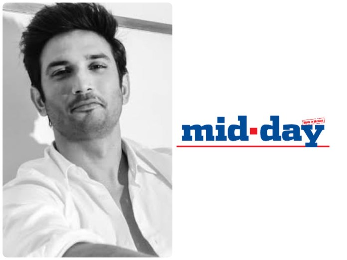 Mid-day edited its article when questioned over its claim that Sushant Singh Rajput suffered from bipolar disorder