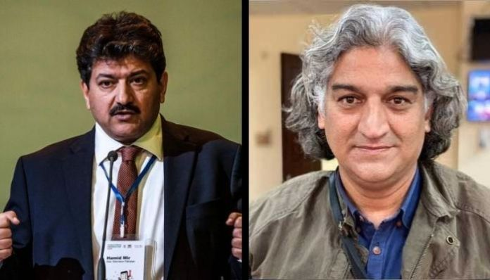 Hamid Mir hits out at security agencies for abudcting Matiullah Jan