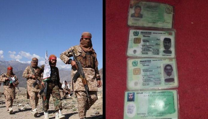 Kandahar: Pakistani I cards recovered from slain terrorists