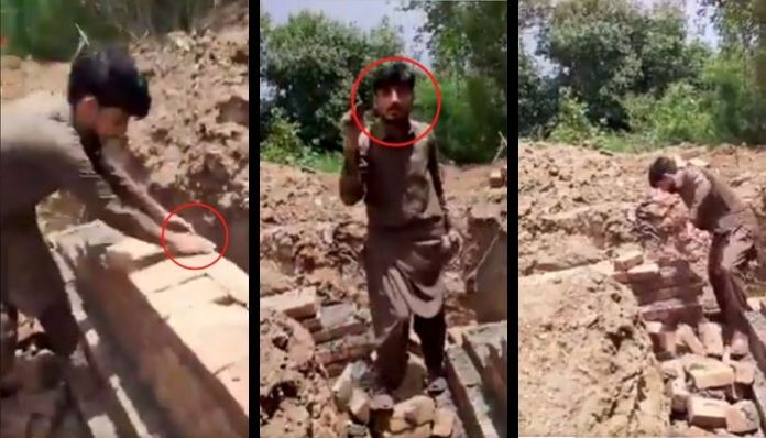 Pakistan: Extremists desecrate Hindu temple wall; construction stopped
