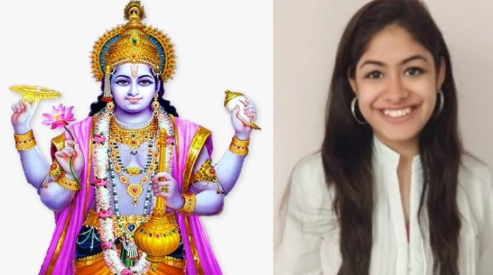 Shristi Jaiswal made a derogatory comment against Shri Krishna