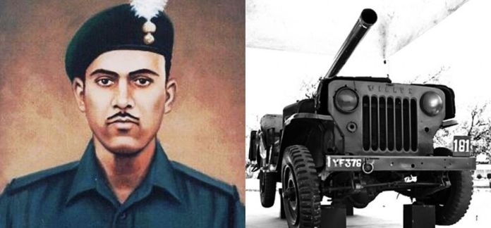 Abdul Hamid was awarded Param Vir Chakra(PVC) for displaying exemplary courage during the 1965 war with Pakistan