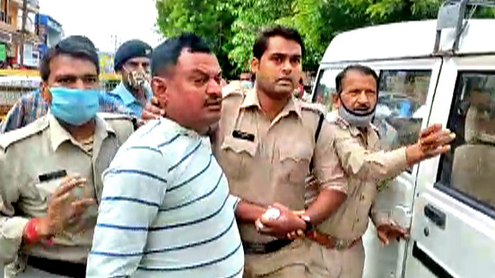 Ujjain police officials claim Vikas Dubey still threatened and intimidated police officials even after his arrest from the Mahakal temple