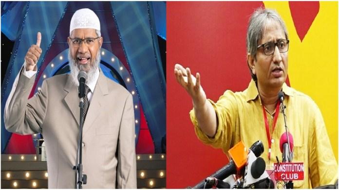 Ravish Kumar cannot go to heaven as long as he remains a 'Mushirk', says Zakir Naik