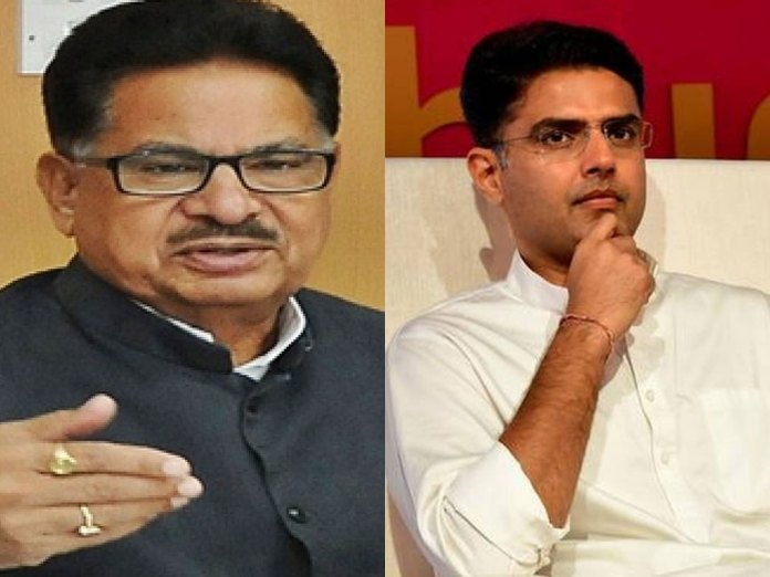 Punia claims Pilot is in BJP