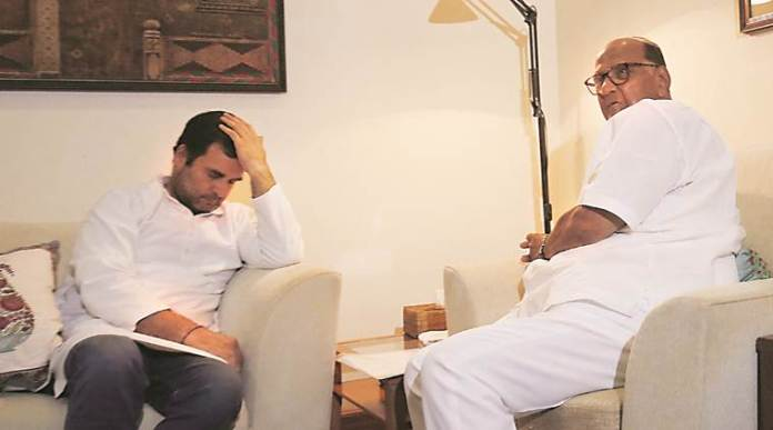 Sharad Pawar supports Rahul Gandhi's candidature for the post of Congress president