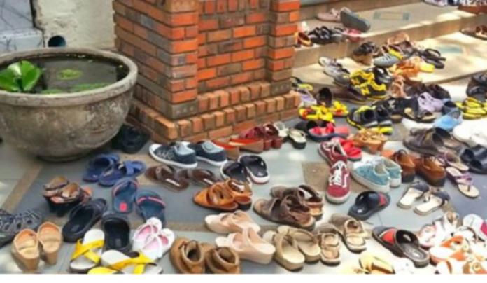 BJP MLA Shyamdhani Rahi's brother accused of stealing slippers, mobile phones and other belongings of temple devotees