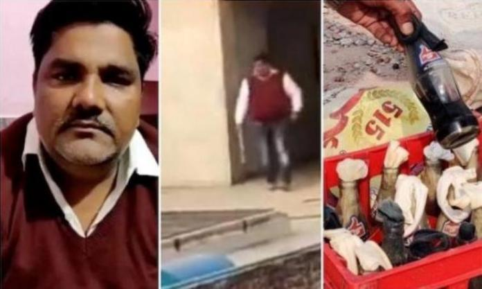 Tahir Hussain not only instigated the mob and plan the riot, but was also at the roof pelting stones and petrol bombs on Hindus