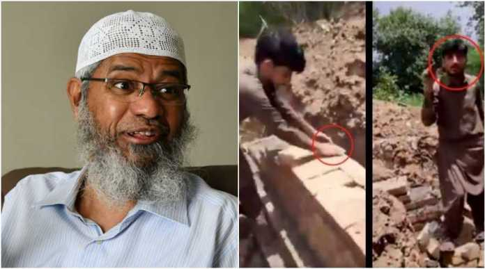 Constructing a Hindu temple in Islamic country is 'haram', says Zakir Naik
