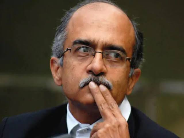 Senior advocate Prashant Bhushan was held guilty in a contempt of court case last month