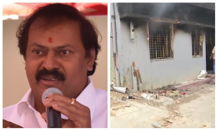 Congress MLA recounts how his house was burnt down by a violent Muslim mob