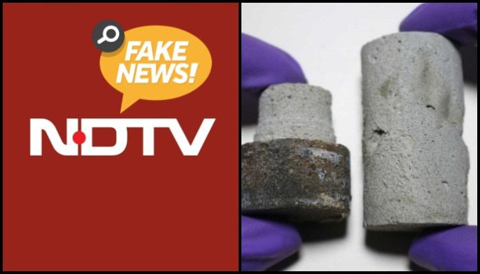 Did Indian scientists make space bricks with 'urine' as claimed by NDTV? Not really: Here are the facts