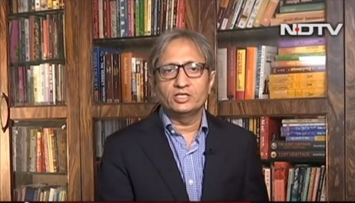 The doublespeak of Ravish Kumar: Mob has religion only when it is Hindu