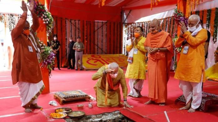 Want legislation outlawing cow-slaughter and liberation of Kashi, Mathura temples as Dakshina: Ram Mandir Bhoomi Pujan priest Gangadhar Pathak