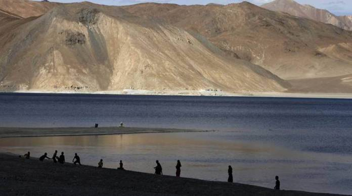 Indian Army has occupied heights to dominate South Bank of Pangong Tso Lake