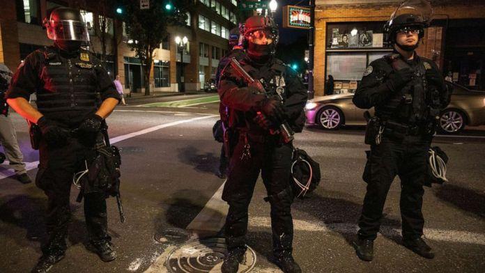 One trump supporter was murdered in Portland, Oregon, USA