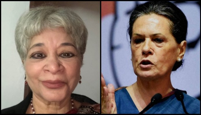 The curious case of Laila Tyabji's epic meltdown, the 'personal saree shopper' of Sonia Gandhi