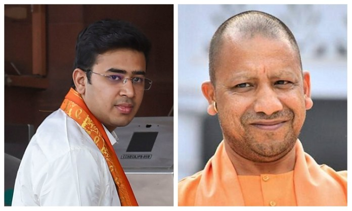 Tejasvi Surya writes to Bengaluru CM, asks him to follow Yogi's example and seal properties of rioters