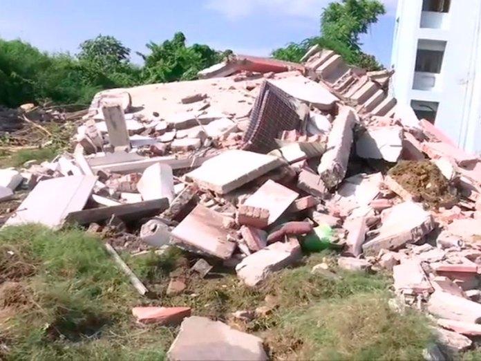 Illegal property of Mukhtar Ansari demolished