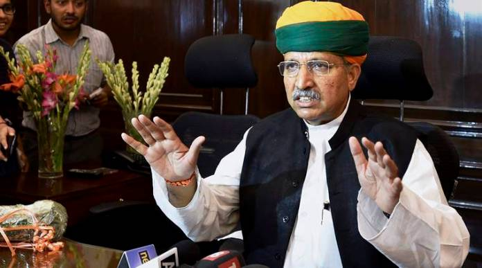 Arjun Ram Meghwal mocked by liberals for testing Coronavirus positive