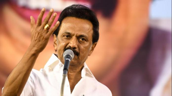 DMK found advertising Stalin's 'doctorate' from fake university