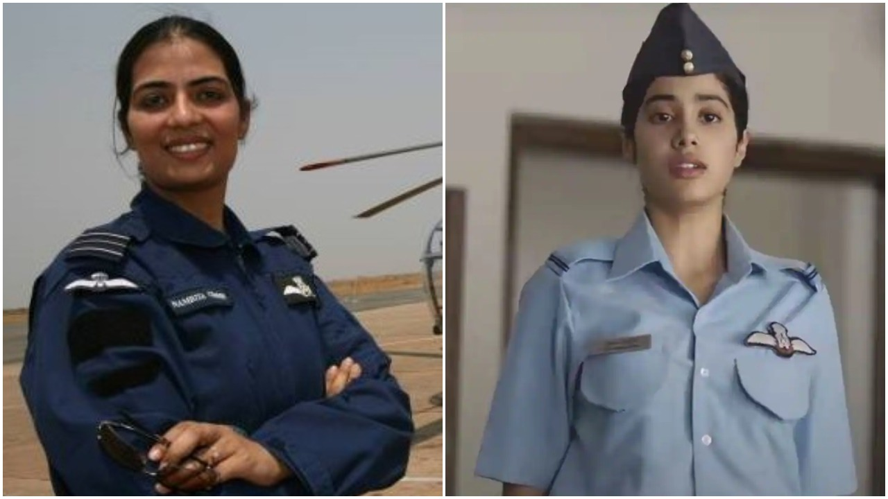 Former Woman Iaf Pilot Slams Karan Johar For Movie Gujan Saxena