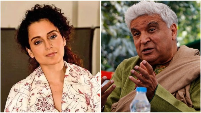 Kangana says people like Javed Akhtar claim to be 'atheists' but they work only to filter 'Islam-friendly' people